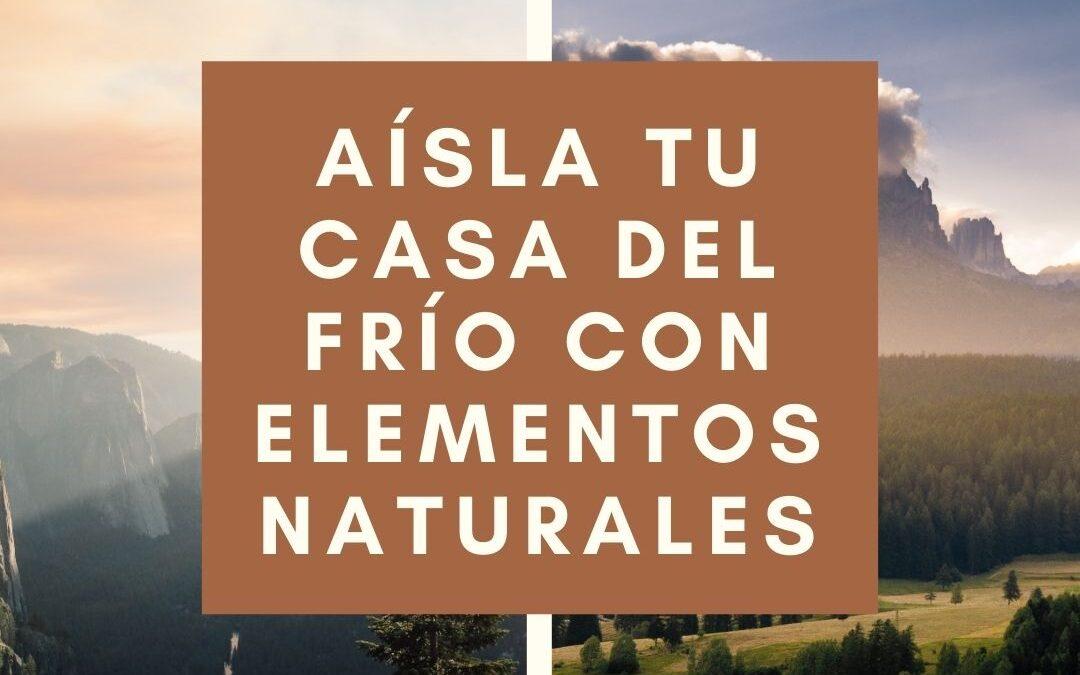 AISLANTES NATURALES HABITABIO