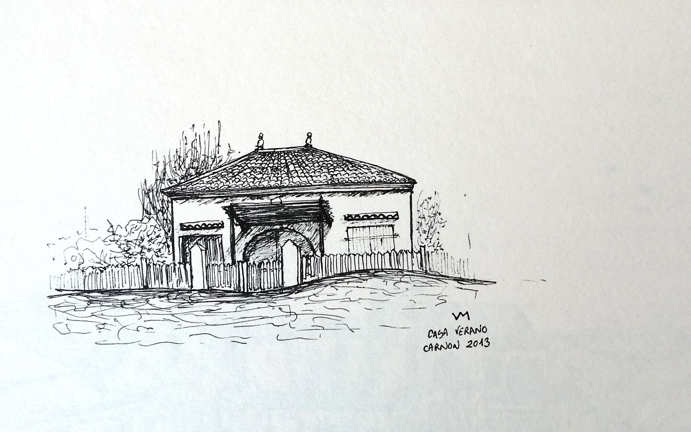 Habitabio - Dibujo - Casa de verano