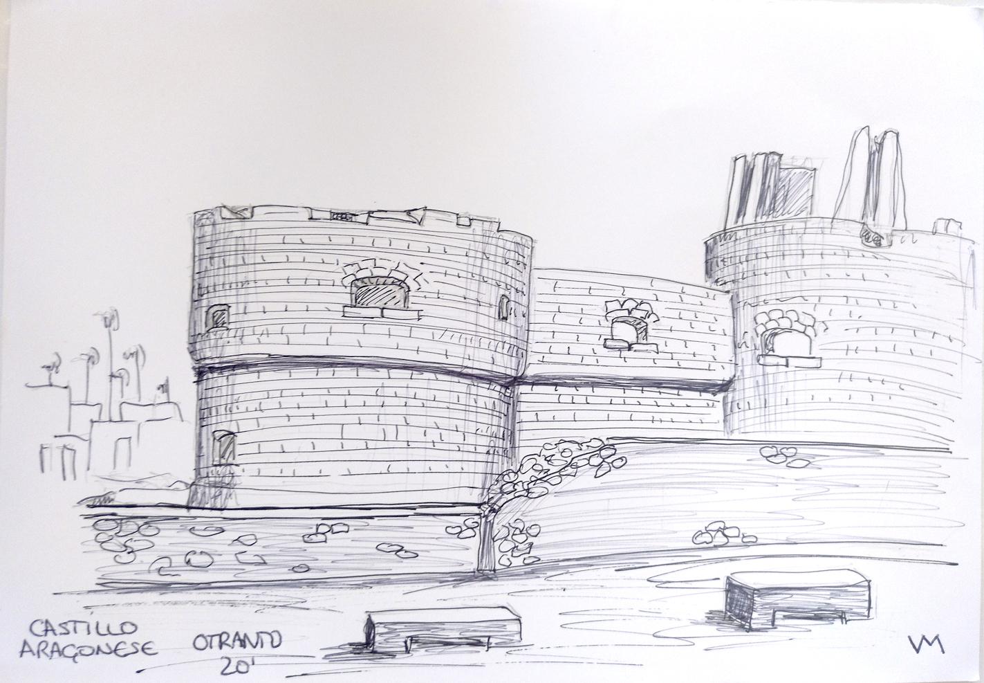Habitabio - Dibujo - Castillo Otranto